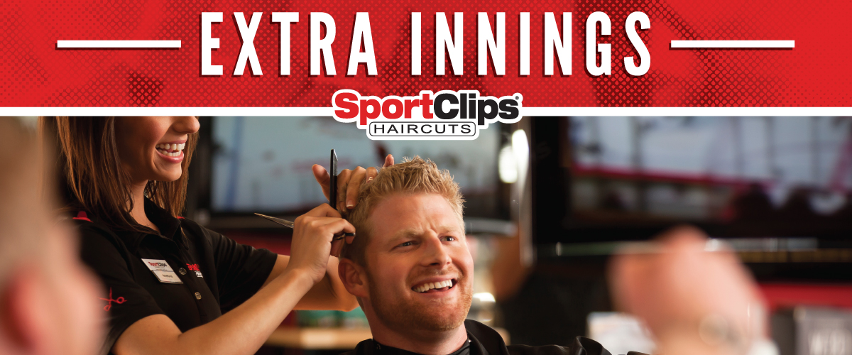 The Sport Clips Haircuts of La Costa Extra Innings Offerings